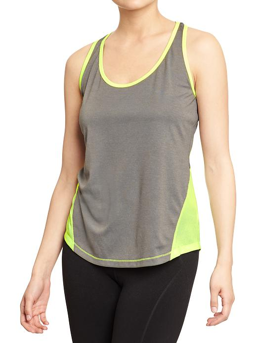 Women's Active Semi-Fitted Tanks. Old Navy, $10