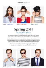 Eye see spring: Warby Parker collection