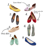 Pretty flats for less