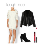 Spring trend: White lace dress