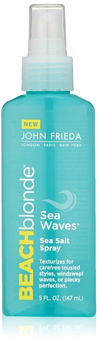 John Frieda Beach Blonde Sea Salt Spray, $6