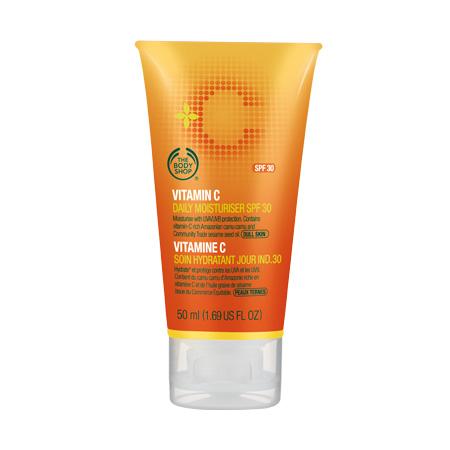 The Body Shop Vitamin C Daily Moisturizer, SPF 30. $21