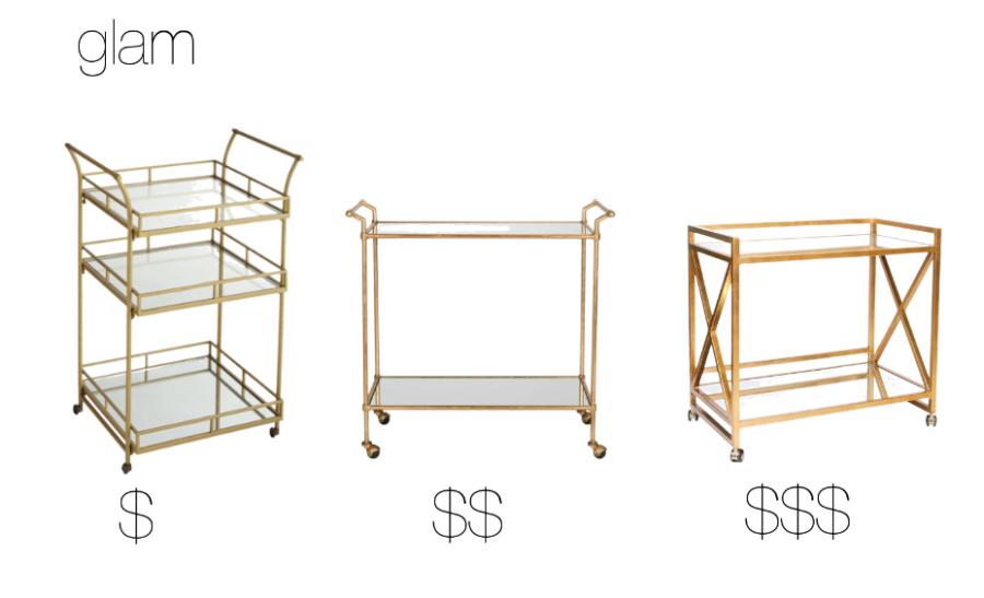 glam-bar-cart