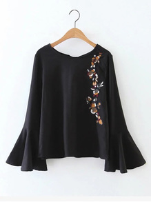 bell-sleeve-top