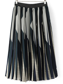 pleated-skirt