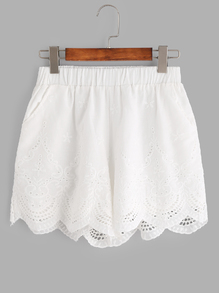 white-lace-shorts