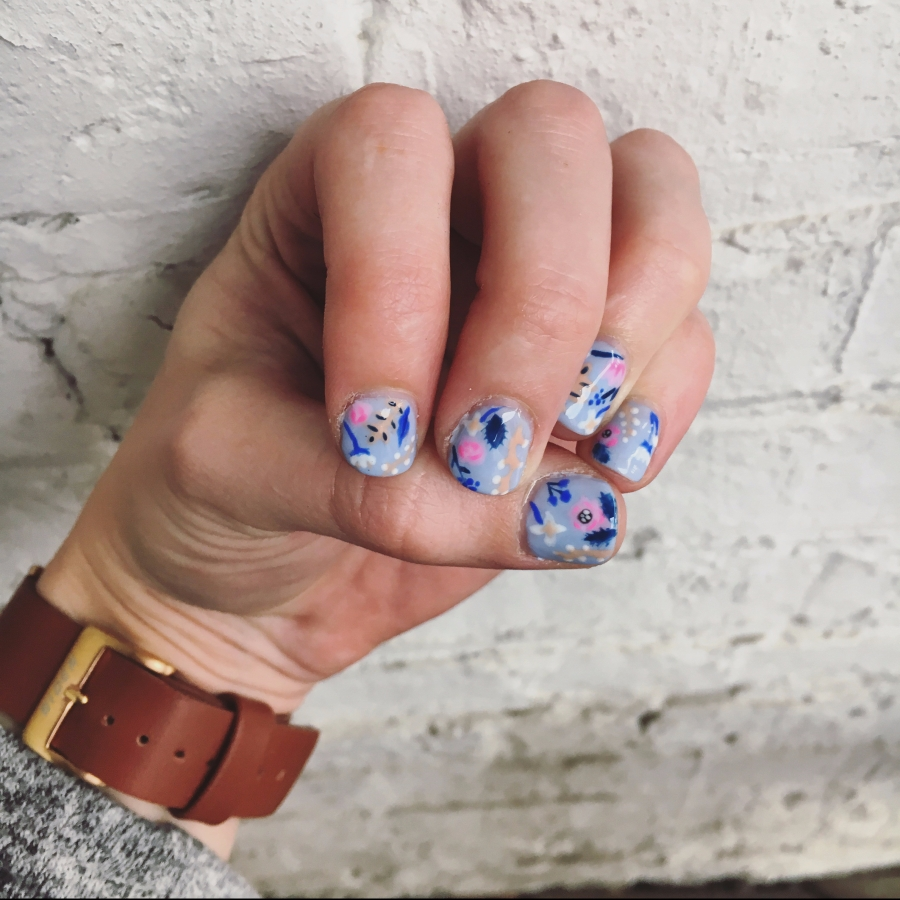 Derby day + Rifle Paper Co. Nails
